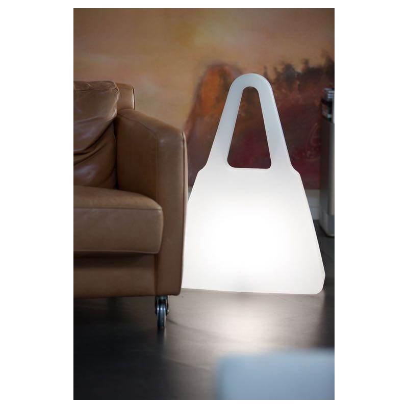 Lampe lumineuse SAC A MAIN intérieur extérieur (blanc, LED multicolore) - image 24465
