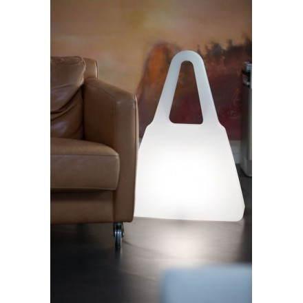 Lampe lumineuse SAC A MAIN intérieur extérieur (blanc)
