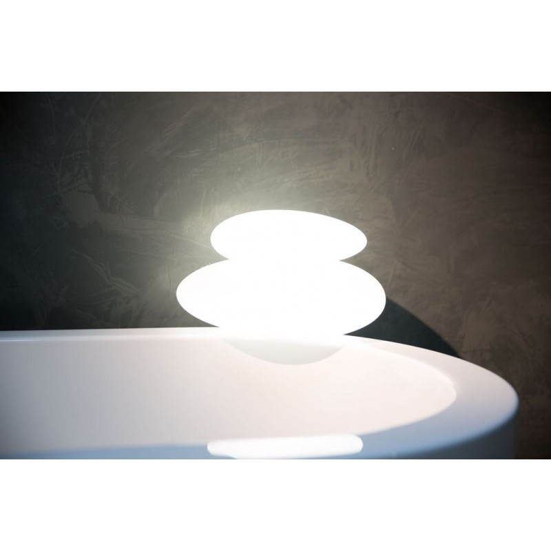 Lampe lumineuse GALET intérieur extérieur (blanc, LED multicolore) - image 24492