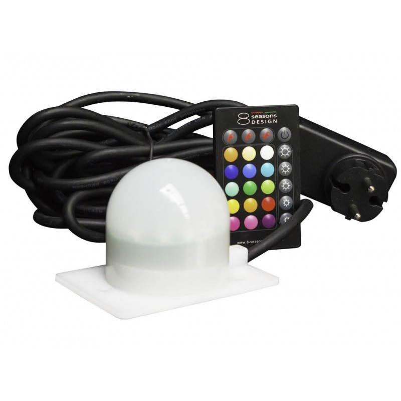 Lampe lumineuse GALET intérieur extérieur (blanc, LED multicolore) - image 24494