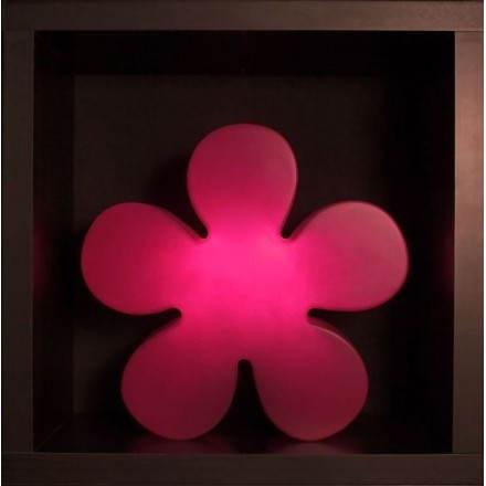 TRIFOGLIO indoor all'aperto brillante fiore (rosa Ø 40 cm)