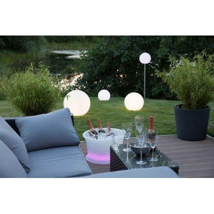 Lampe lumineuse GLOBE intérieur extérieur (blanc Ø 50 cm)