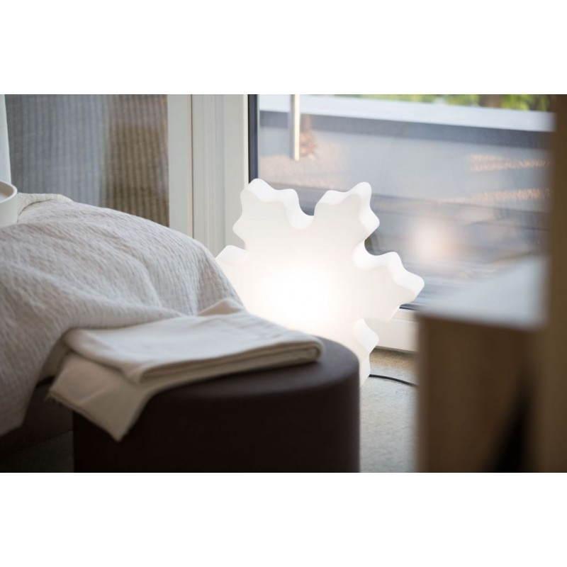 Flocon lumineux neige int rieur ext rieur blanc for Interieur blanc et lumineux