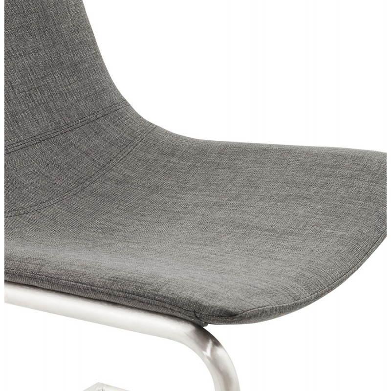 Design stuhl und moderne textile in rimini grau for Design stuhl grau