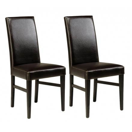 Lot of 2 chairs EUROPE (wenge)