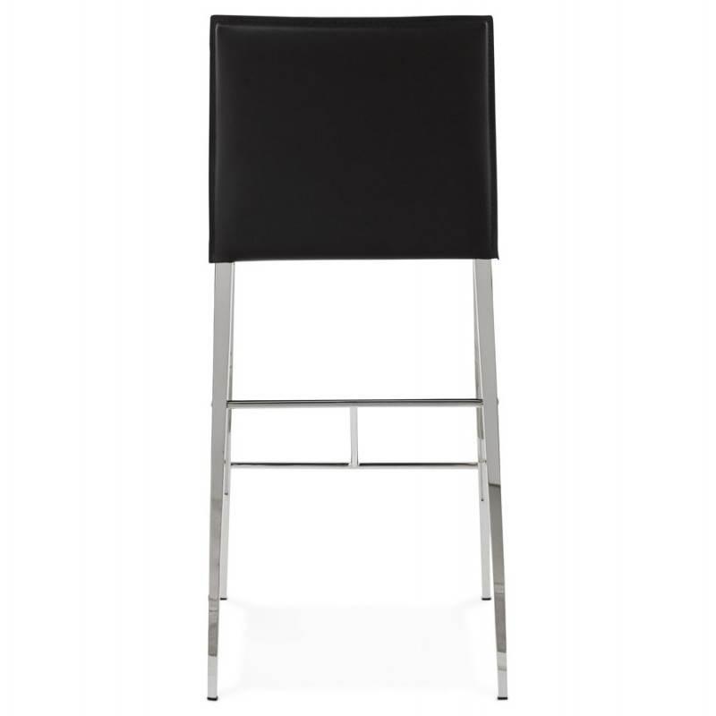 Tabouret mi hauteur design et contemporain NADIA (noir) - image 25071