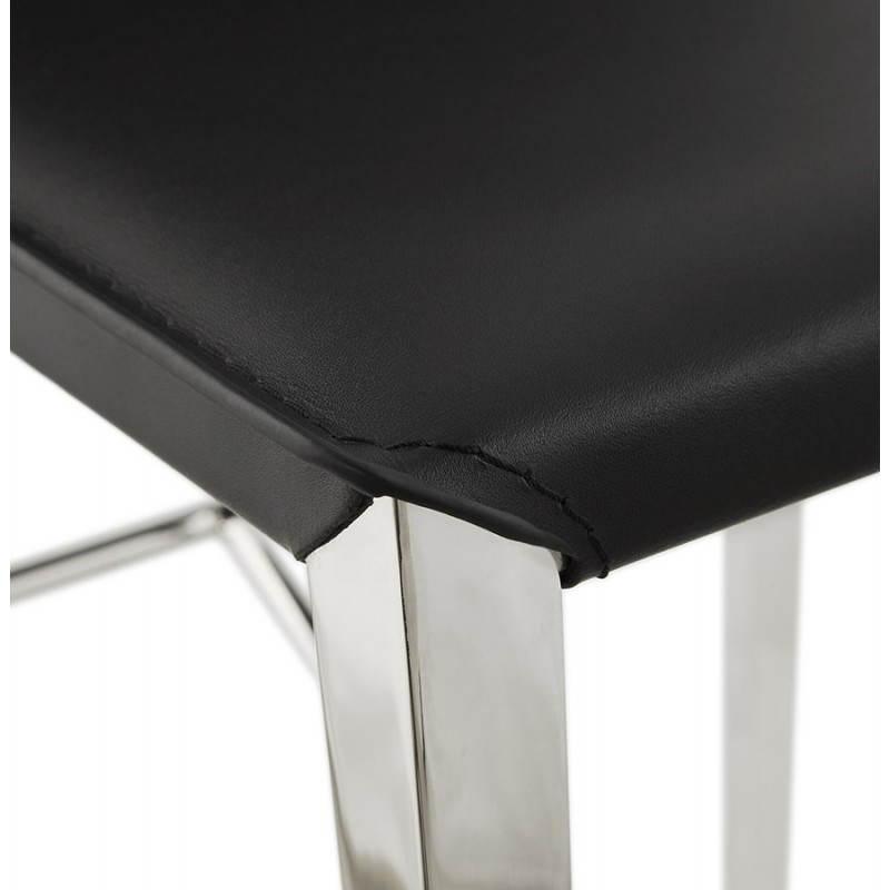 Tabouret mi hauteur design et contemporain NADIA (noir) - image 25074