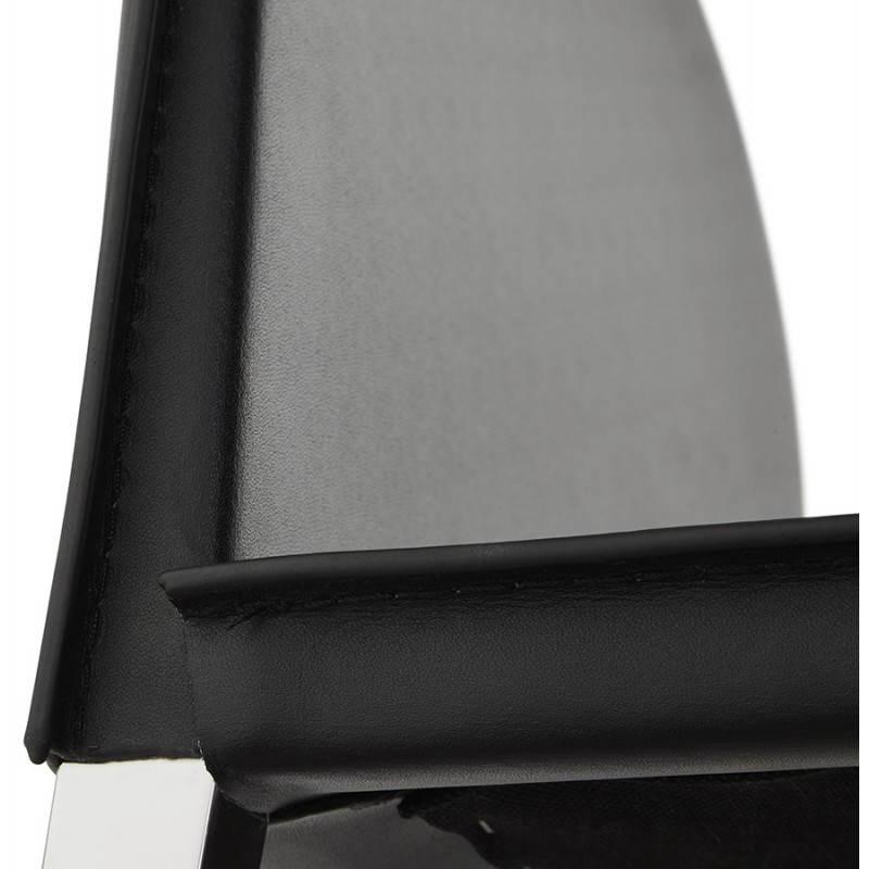 Tabouret mi hauteur design et contemporain NADIA (noir) - image 25077