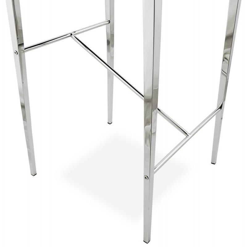 Tabouret mi hauteur design et contemporain NADIA (noir) - image 25078