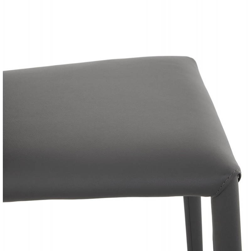 Tabouret de bar design BARBY (gris foncé) - image 25124