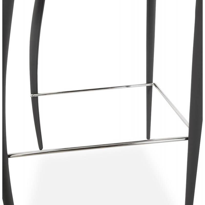 Tabouret de bar design BARBY (gris foncé) - image 25134