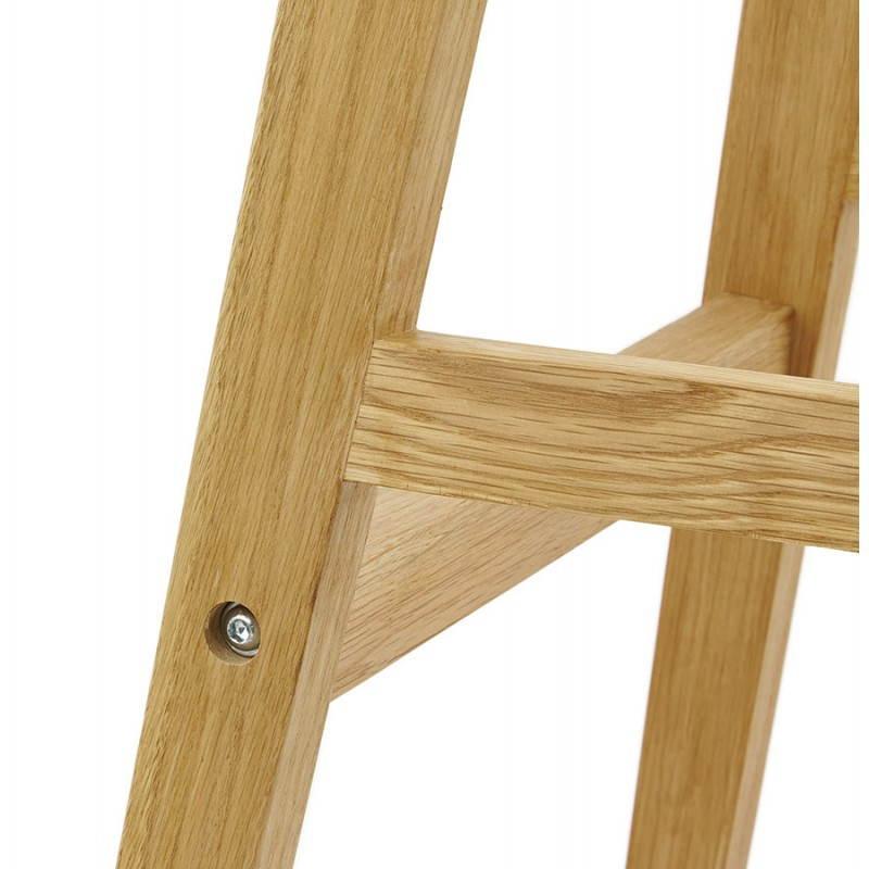 Tabouret de bar chaise de bar design scandinave FLORENCE (noir) - image 25182