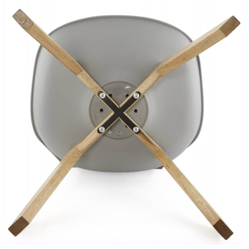 Stile moderno sedia scandinavo SIRENE (grigio) - image 25381