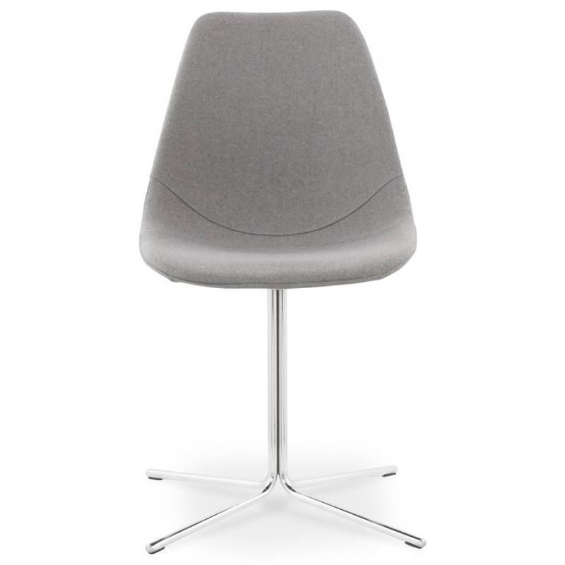 Chaise design contemporaine OFEN en tissu (gris) - image 25455