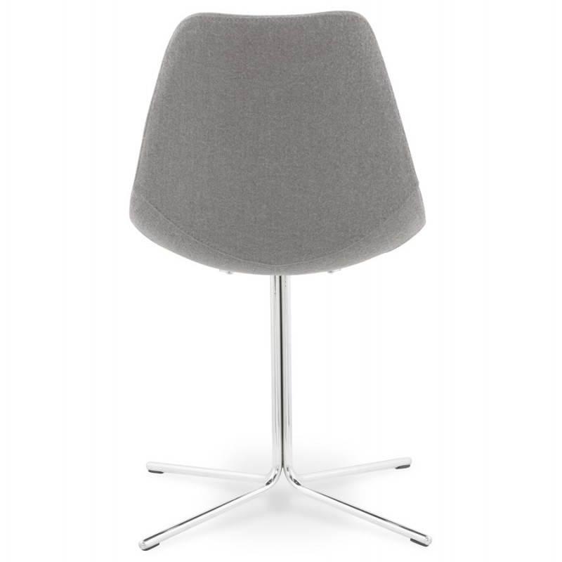 Chaise design contemporaine OFEN en tissu (gris) - image 25458