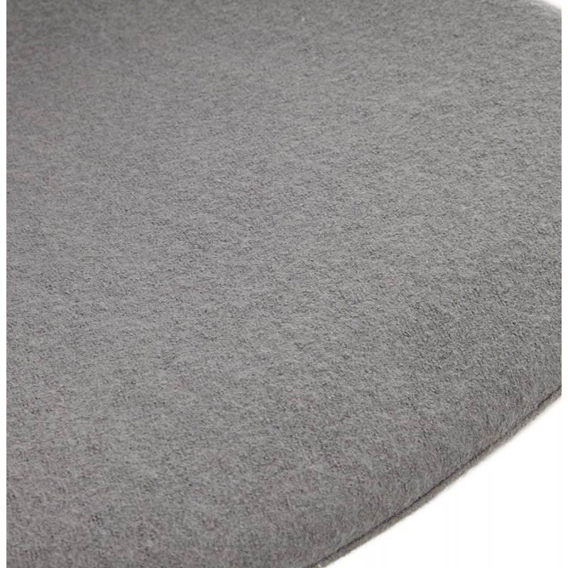 Silla de diseño contemporáneo OFEN en tela (gris) - image 25460