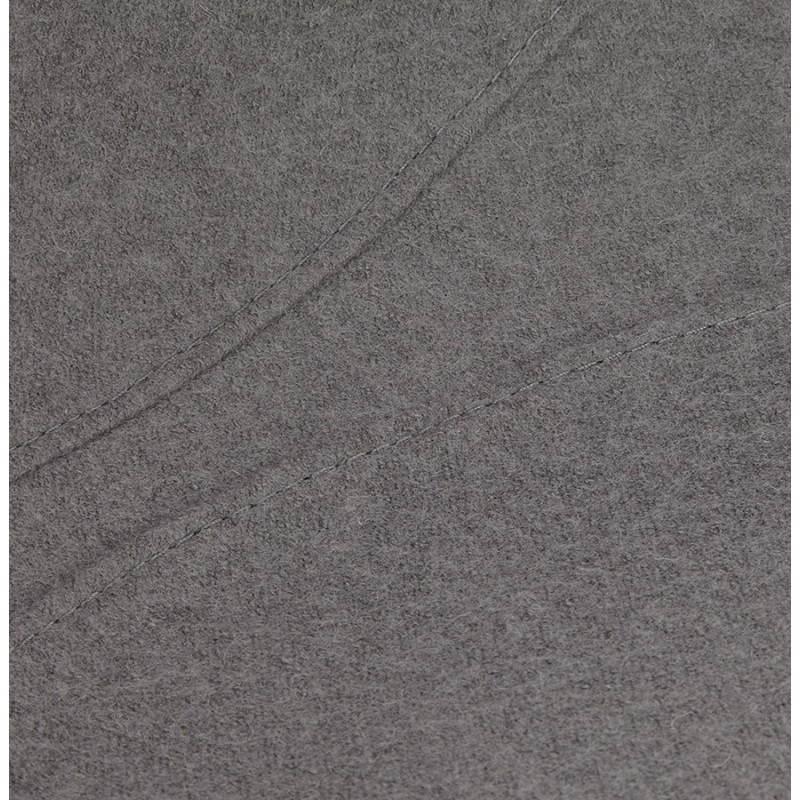 Zeitgen ssisches design stuhl ofen aus stoff grau for Design stuhl grau