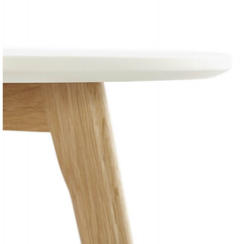 Tables basses design gigognes ART en bois et chêne massif (blanc) - image 25530