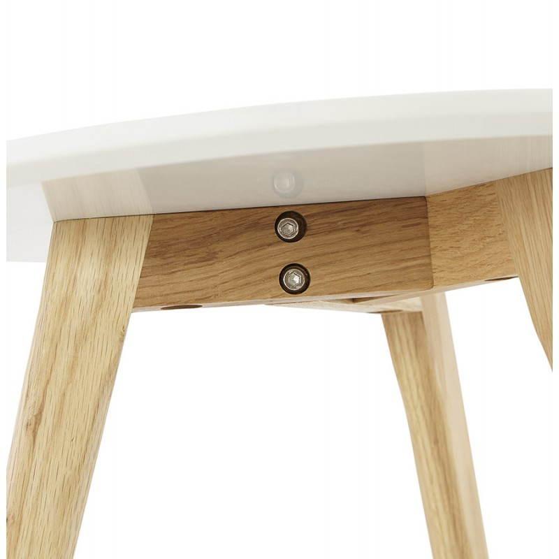 Tables basses design gigognes art en bois et ch ne massif - Table basse bois massif design ...