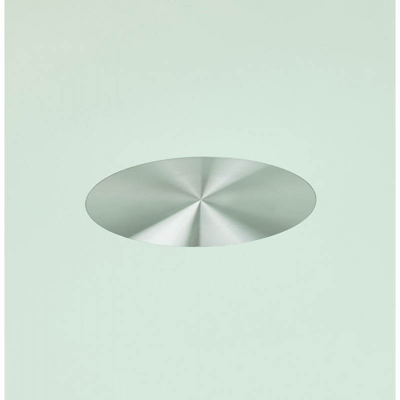 Design Esstisch Runde MANGO (weiß) temperiert Gläser (Ø 120 cm) - image 25725