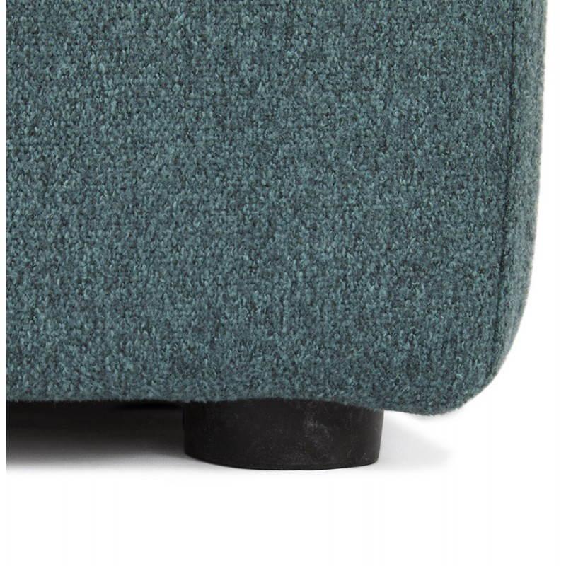 Pouf carré BARILLA en tissu (bleu) - image 25807