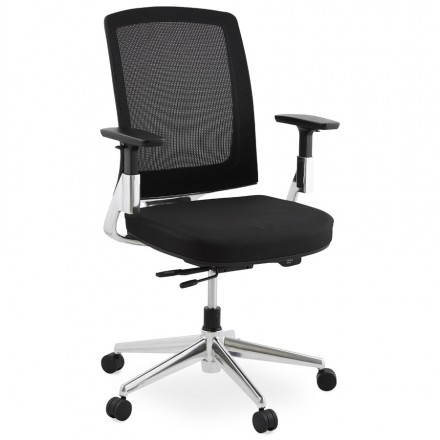 Ergonomic Office LEO (black) fabric armchair