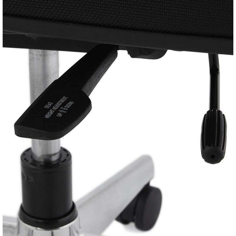 Fauteuil de bureau ergonomique LEO en tissu (noir ) - image 25993