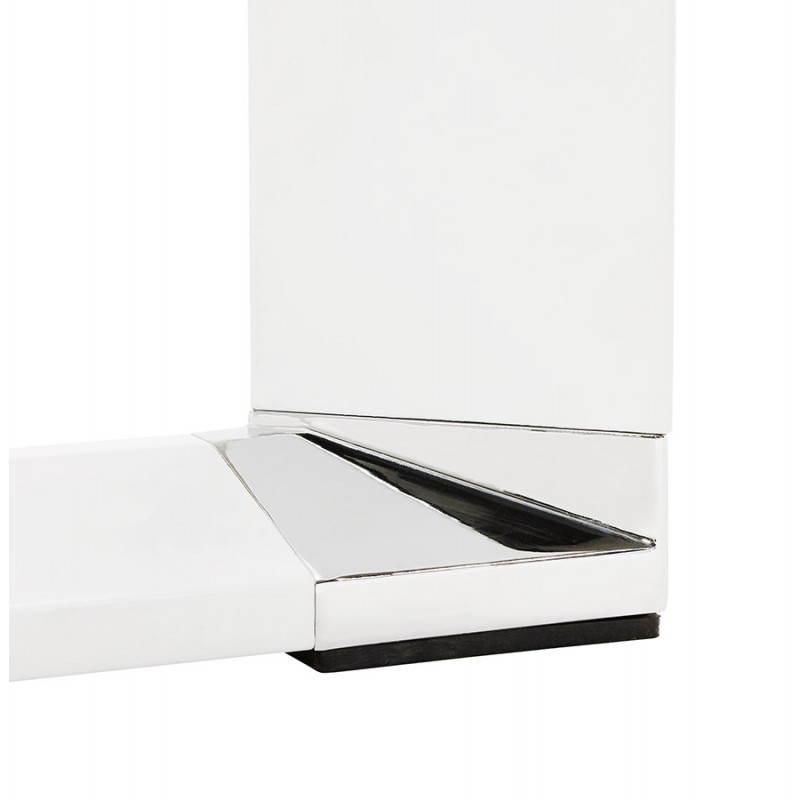 Bureau droit design BOUNY en bois (blanc) - image 26008