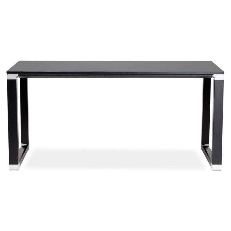 Bureau droit design BOUNY en bois (noir) - image 26022