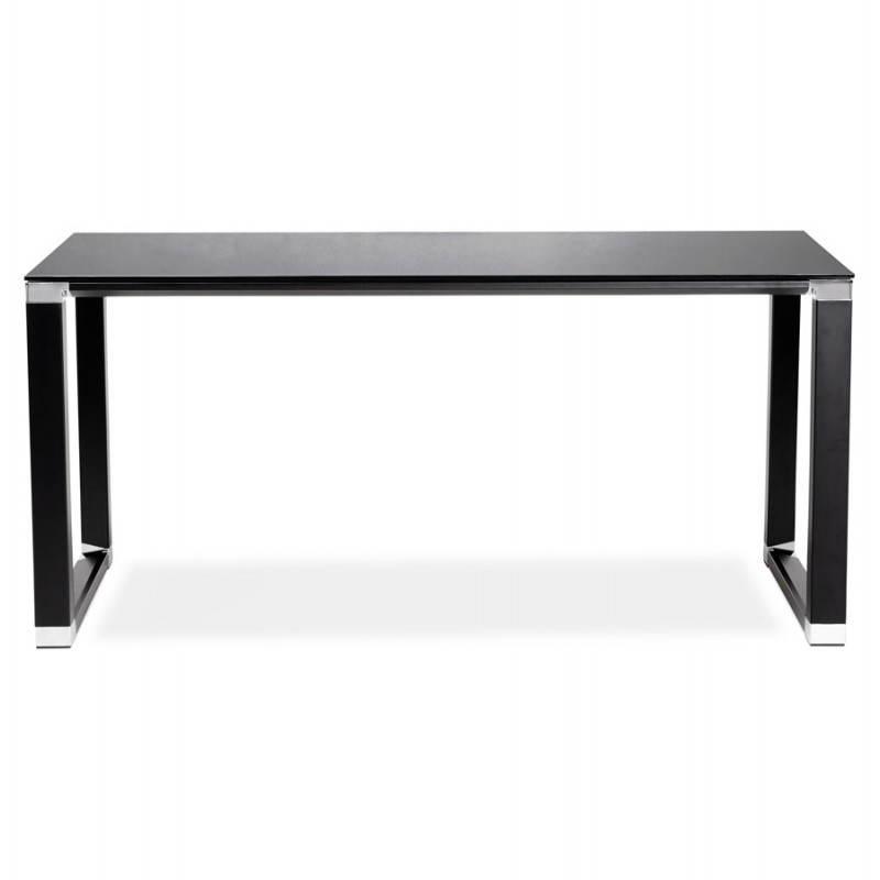 bureau verre trempe noir 28 images bureaux meubles et. Black Bedroom Furniture Sets. Home Design Ideas