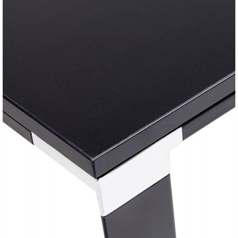 Bureau d'angle design CORPORATE en bois (noir) - image 26245