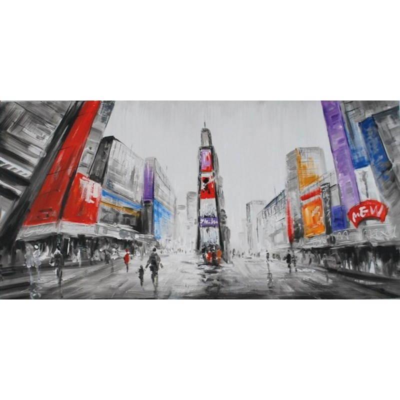 Tableau peinture figurative contemporaine CITY  - image 26505