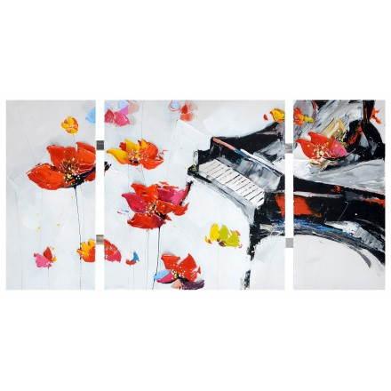 Tabelle Malerei figurative zeitgenössische FLORAL