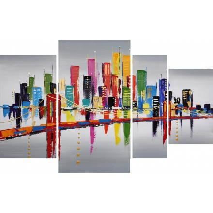 Tabella pittura figurativa contemporanea astratta