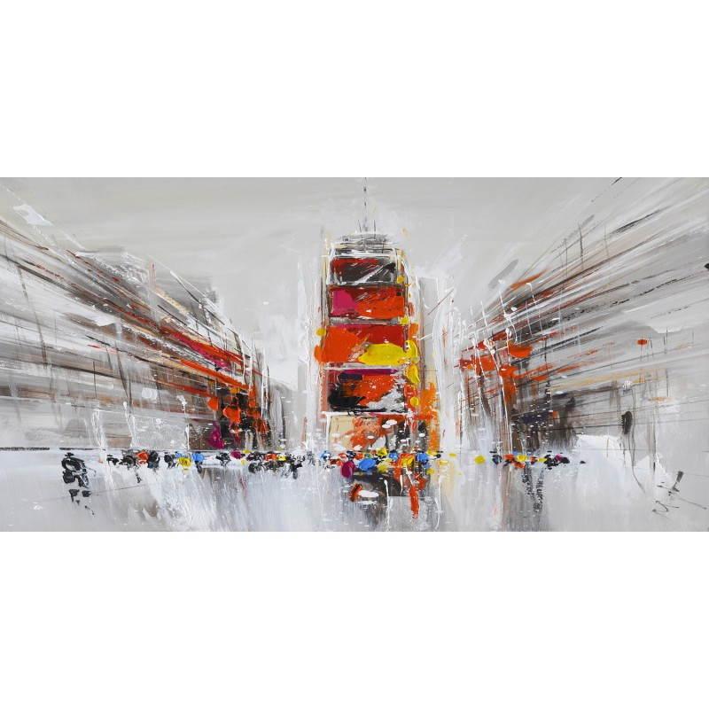 Tableau peinture figurative contemporaine PERSPECTIVE  - image 26511