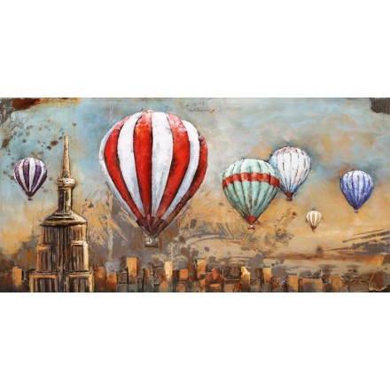 Tabelle Malerei Unterstützung Metall Ballon