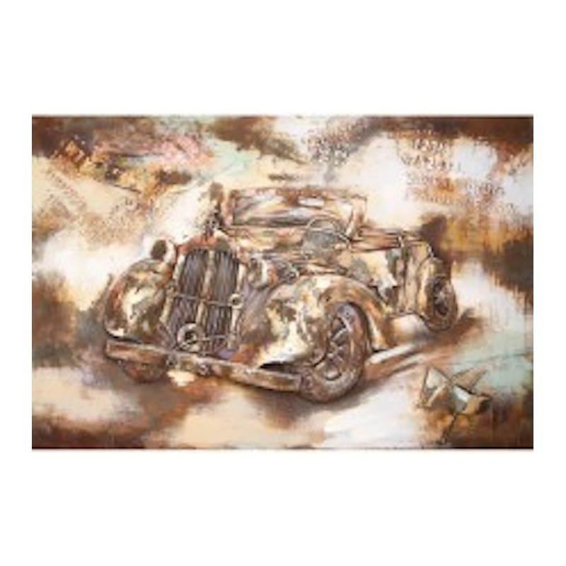 Tableau peinture support métal VOITURE DE COLLECTION  - image 26521