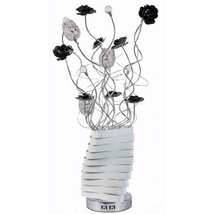 Lamp flexible WARHEAD metal (white, black, chrome)
