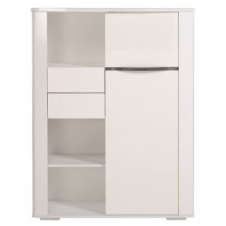 Sideboard buffet design PICPUS (megeve/gloss white)