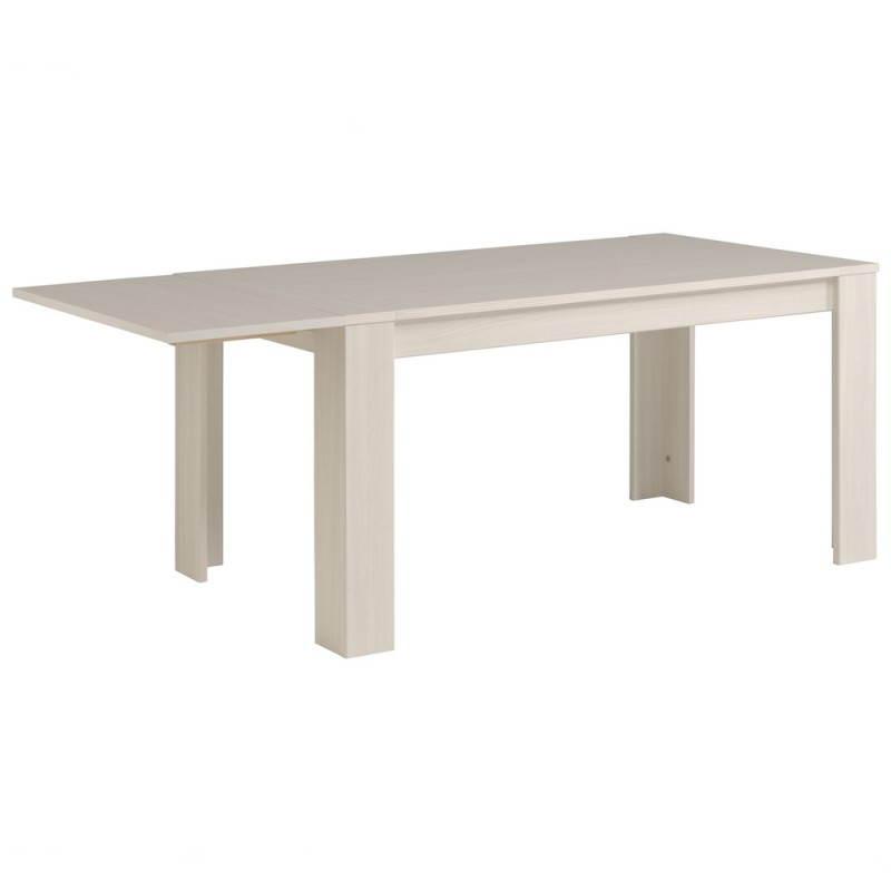 table manger extensible 2 allonges contemporaine quene. Black Bedroom Furniture Sets. Home Design Ideas