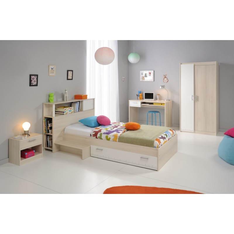 t te de lit design avec rangement junior fille gar on alex. Black Bedroom Furniture Sets. Home Design Ideas