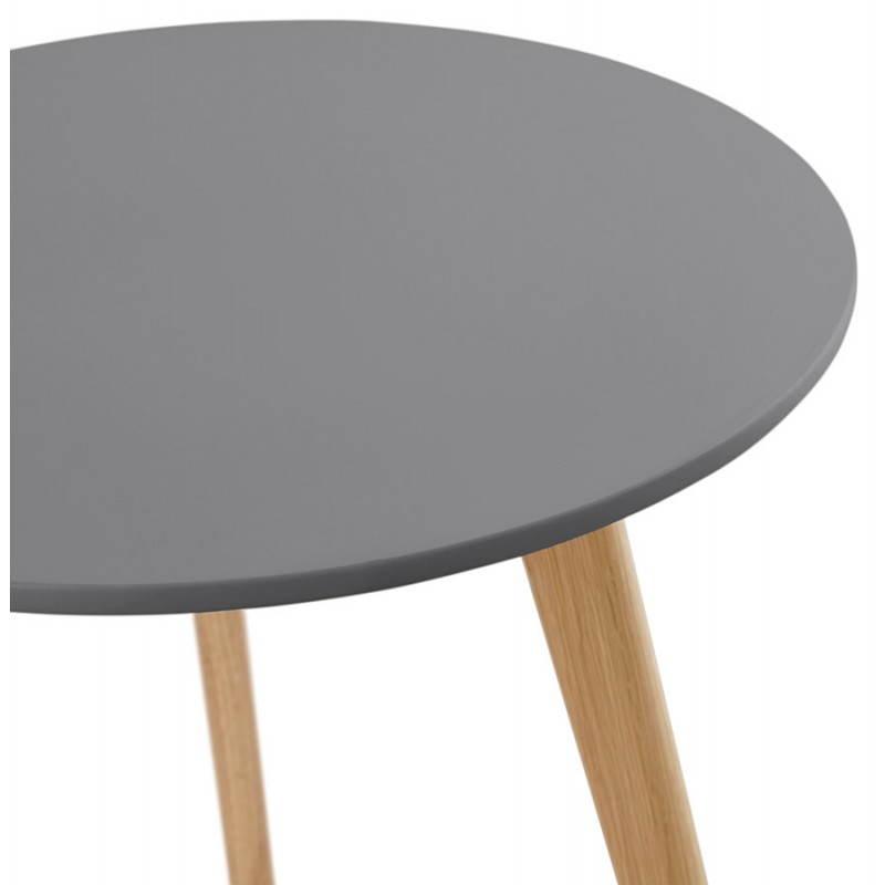 Tables basses design gigognes ART en bois et chêne massif (gris foncé) - image 27784