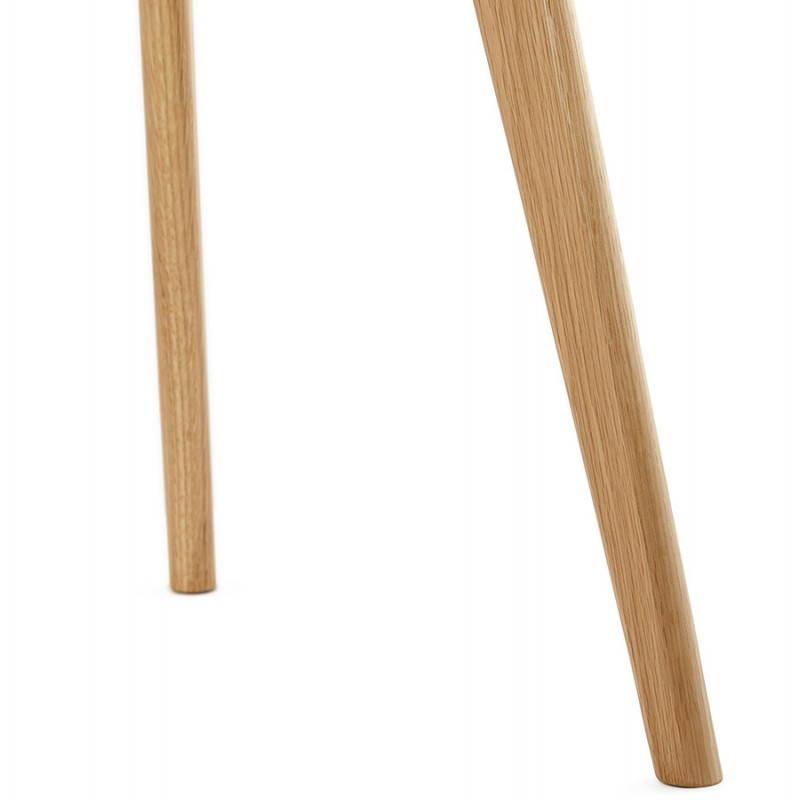 Tables basses design gigognes ART en bois et chêne massif (gris foncé) - image 27788