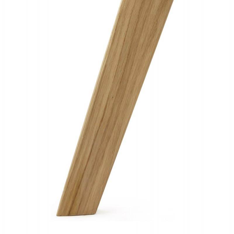 Zeitgenössische Stuhlart skandinavischen FJORD (schwarz) - image 27815