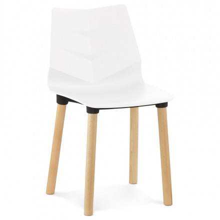 Sedia design scandinavo SVEZIA (bianco)