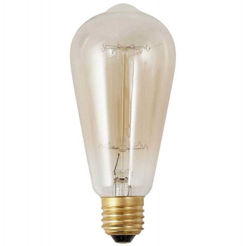 lampe lange industrielle vintage ivan glas transparent ger uchert. Black Bedroom Furniture Sets. Home Design Ideas
