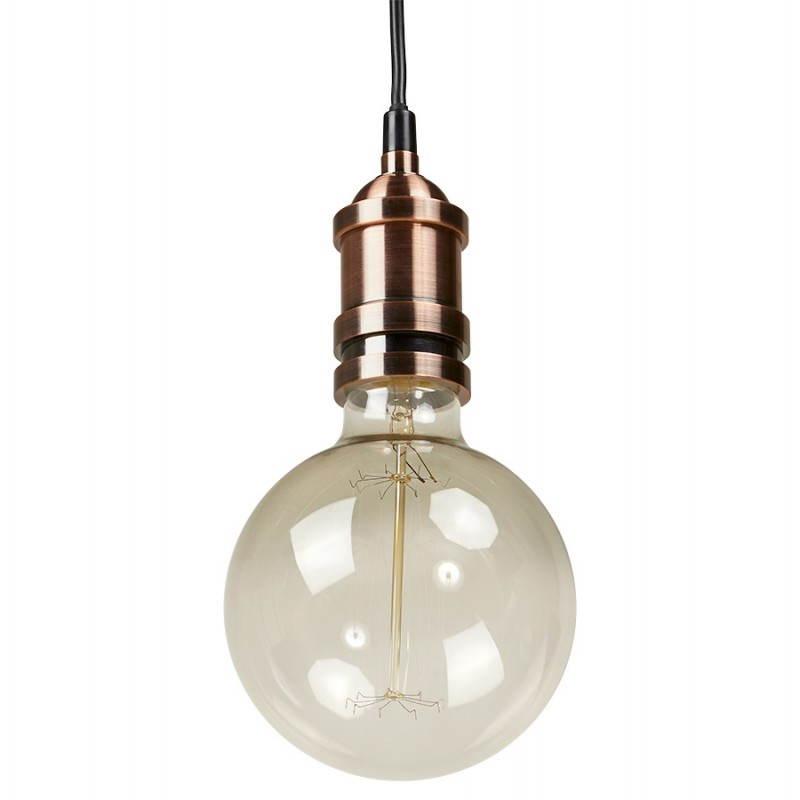 Ampoule ronde vintage industrielle IVAN BIG en verre (transparent, fumé) - image 28257