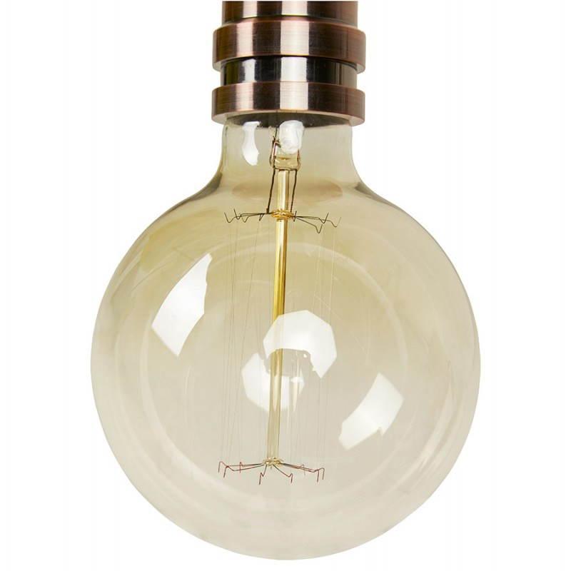 Ampoule ronde vintage industrielle IVAN BIG en verre (transparent, fumé) - image 28258