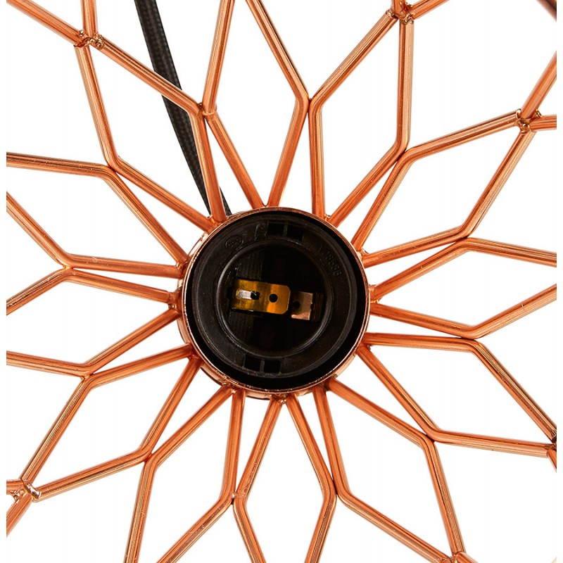 Lampe à suspension vintage MOSS en métal (cuivre) - image 28267