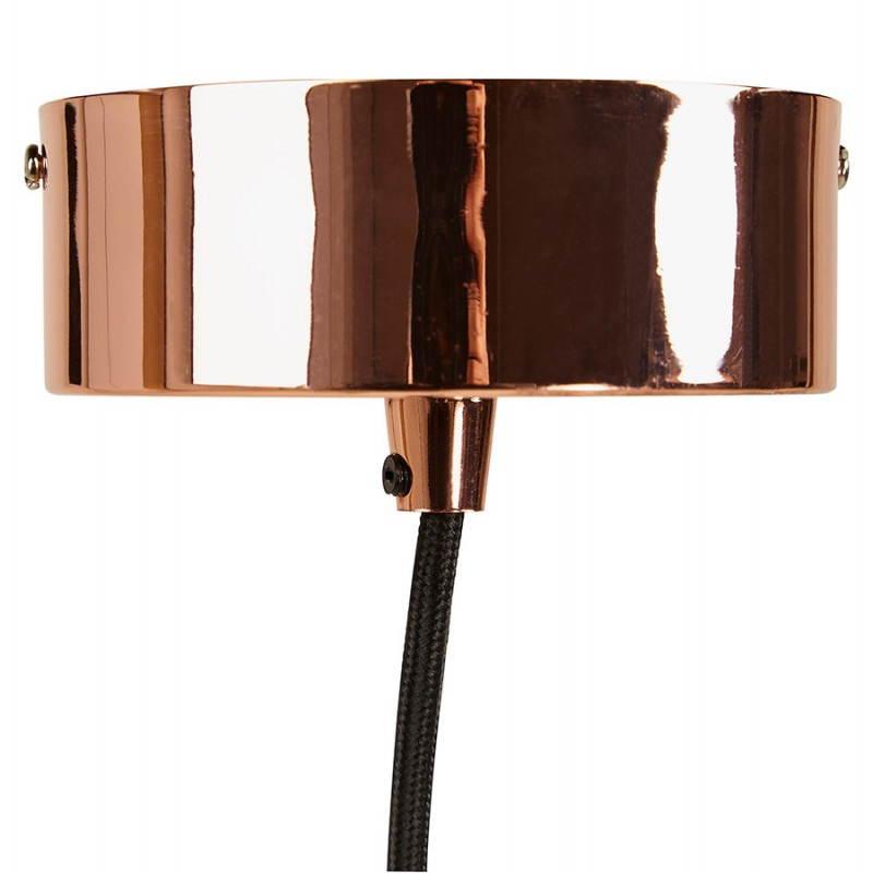 Lampe à suspension vintage MOSS en métal (cuivre) - image 28268